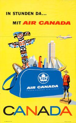 Air Canada - In Stunden da mit Air Canada - 1960s