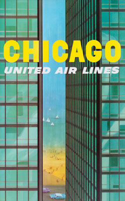 United Air Lines - Chicago - Stan Galli - 1950s