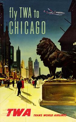 TWA - Chicago - 1950s