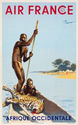 Air France - Afrique occidentale - Albert Victor Eugène Brenet -1950