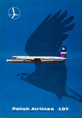 LOT - Polish Airlines - Maciej Hibner - 1961