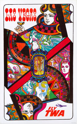 TWA - Las Vegas - David Klein - 1960s
