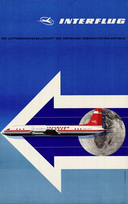 Interflug - Die Luftverkehrsgesellschaft der Deutschen Demokratischen Republik - E. + G. Bormann