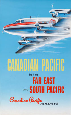 Canadian Pacific - to the Far East and South Pacific - 1952