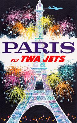TWA - Paris Fly TWA Jets - 1960s