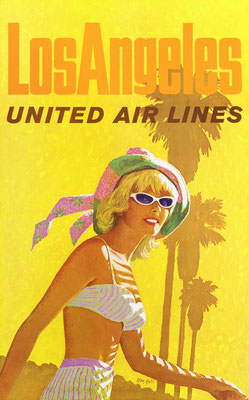 United Air Lines - Los Angeles - Stan Galli - 1950s