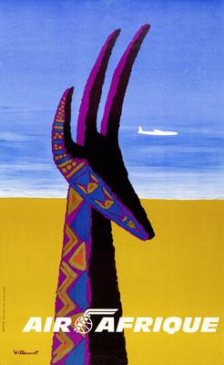 Air Afrique - Villemot - 1960s