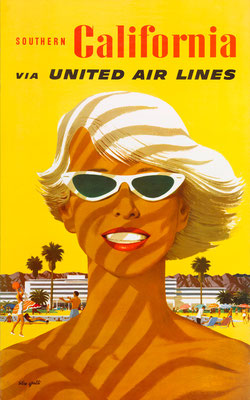 United Air Lines - Southern California - Stan Galli - 1950s