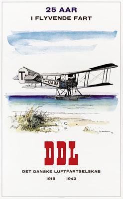 DDL - 25 Aar - Ib Andersen - 1943