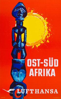 Lufthansa - Ost-Süd Afrika - 1961