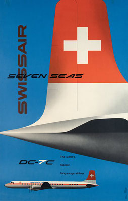 Swissair - Dc7C - Kurt Wirth