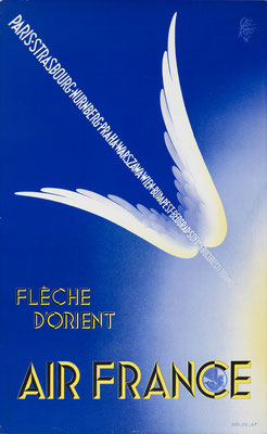 Air France - Fleche d'Orient - Paolo Garretto - 1936