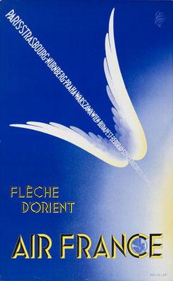 Air France - Fleche d'Orient - Paolo Garretto - 1936