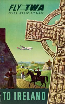 TWA - To Ireland - Simon Greco - 1950s