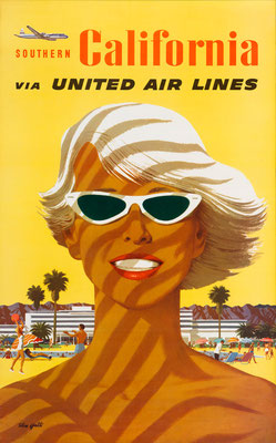 United Air Lines - - Southern California - Stan Galli - 1950s