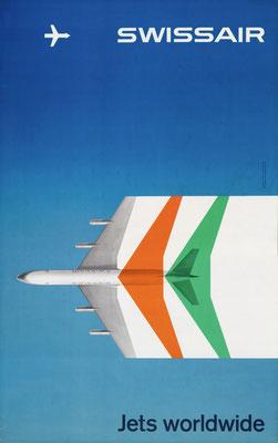 Swissair - Jets worldwide - Max Schneider - 1959