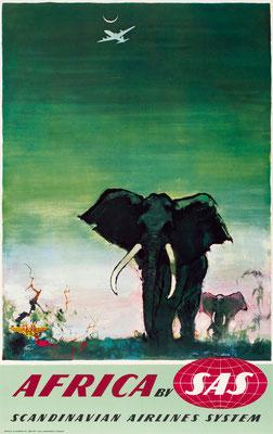 SAS - Africa - Otto Nielsen - 1950s