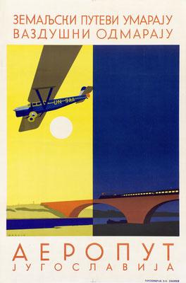 Aeroput Jugoslavija - Hans Wagula - 1930s