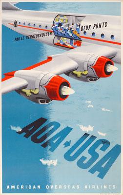 AOA - AOA > USA Par le Stratocruiser deux Ponts - Lewitt-Him - 1940s