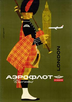 Aeroflot - London - Nikolai Kirillovich Litvinov