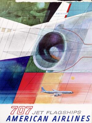 American Airlines - 707 Jet Flagships - Herbert Danska - 1960s