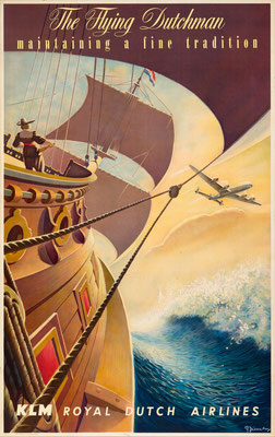 KLM - The Flying Dutchman -  Leen Spierenburg - 1956