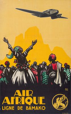 Air Afrique - Ligne de Bamako - ALO (Charles Jean Hallo) - 1937
