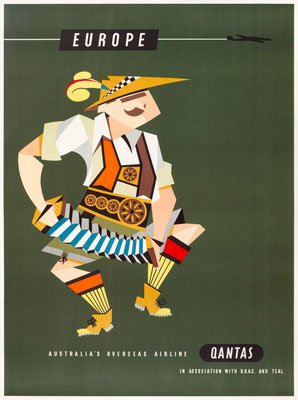BOAC - Europe - Harry Rogers - 1950s