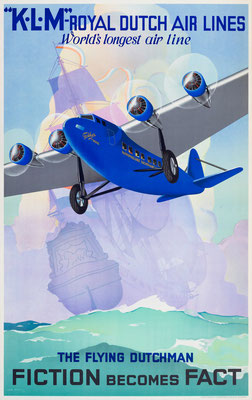 KLM - The Flying Dutchman Fiction becomes Fact - Jan Wijga -1933
