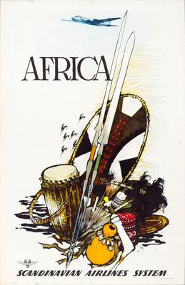 SAS - Africa - Otto Nielsen - 1955