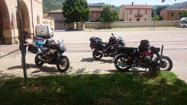 Arrivo al Piazzale Isonzo a Predappio, si aggiunge Daniele