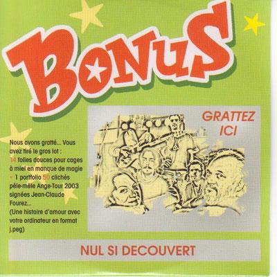CD Bonus 2004