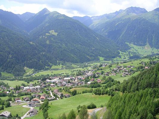 Das Dorf Virgen