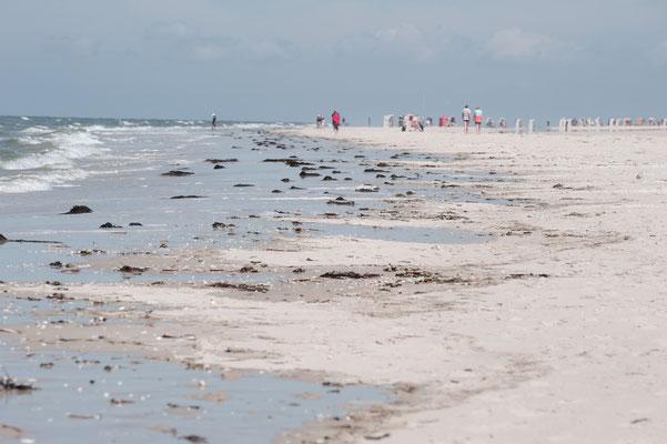 Unendliche Weite am Strand