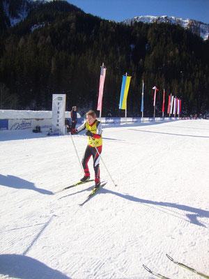 Jakob startet endgültig in sein erstes Rennen
