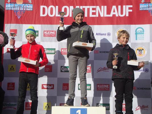 Siegerfoto mit Jakob und Fabian
