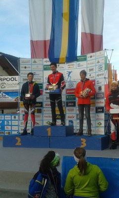 ... und erreicht nach dem Koasalauf in der Vorwoche auch beim Gsiesertal-Lauf den sehr starken dritten Platz, nur wenige Zehntel hinter dem Sieger