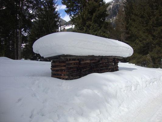 Eindruck aus dem tiefverschneiten St. Jakob