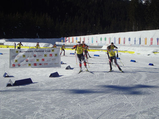 auch die zweite Gruppe startet ihr Rennen ...