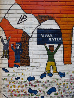 Evita Peron - die immer noch verehrte Präsidentengattin