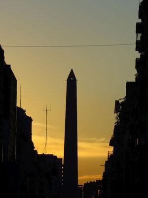 Buenos Aires - Abendstimmung