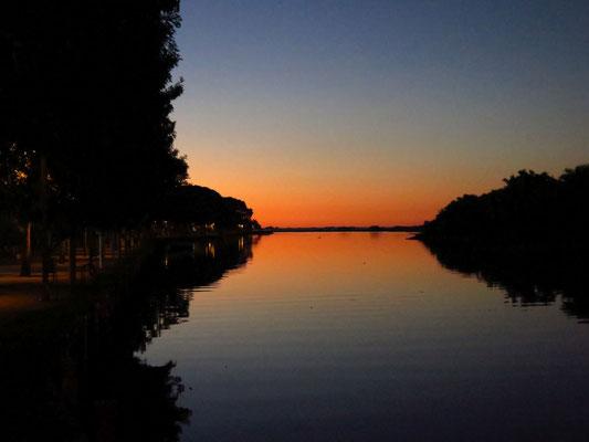 Sonnenuntergang in Uruguay