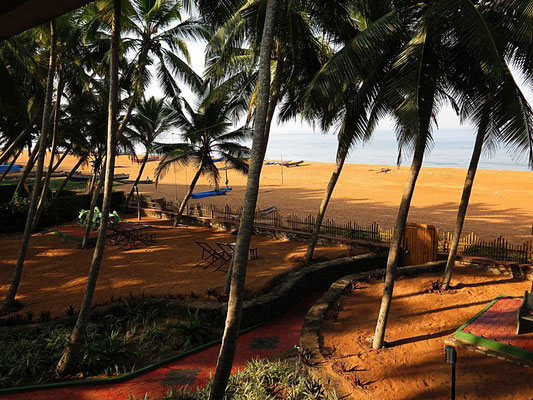 Ankunft in Kerala