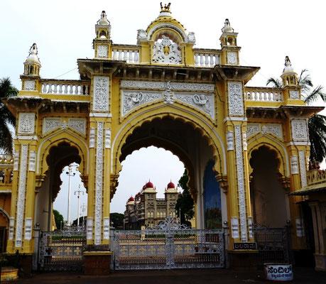 Der Amba Vilas Palast von Mysore