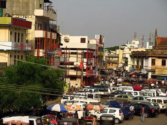 Blick auf Mysore