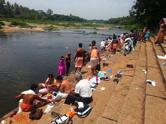 Kaveri River bei Srirangapatna
