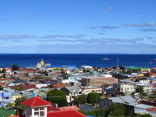 Punta Arenas - Ausgangsort zahlreicher Antarktis-Expeditionen