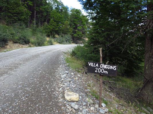 Villa O'Higgins - hier endet die Carretera Austral