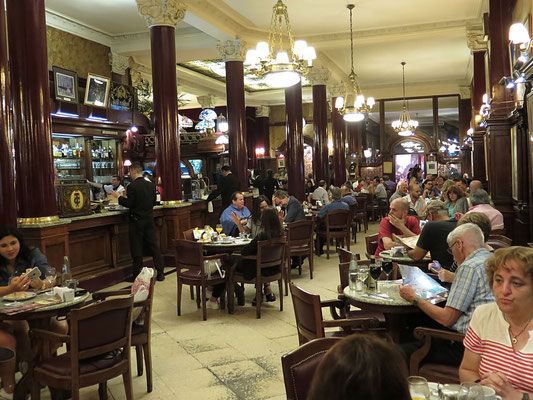 Vintage Cafe Tortoni in Buenos Aires
