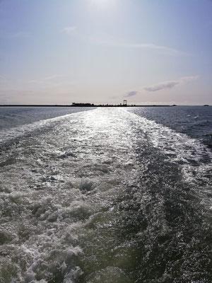 Die Nordsee ganz friedlich
